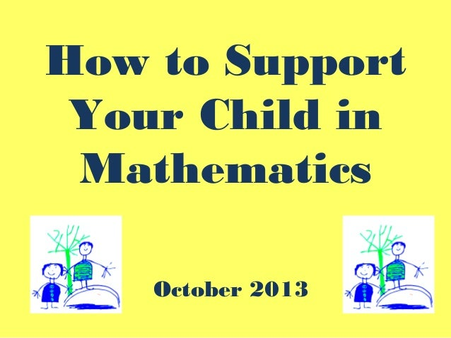 How To Help Your Child in Maths Y2