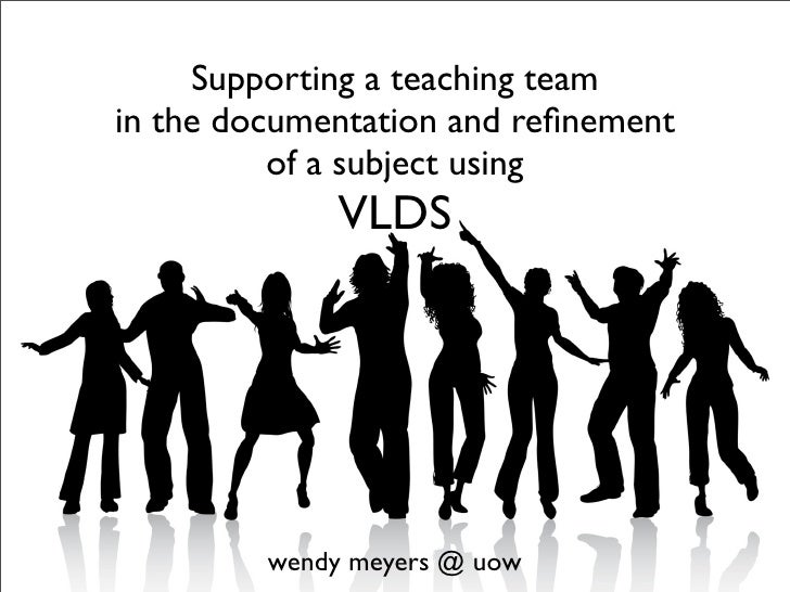 Supporting a teaching team in the documentation and refinement           of a subject using              VLDS              ...