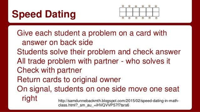 Dating Math