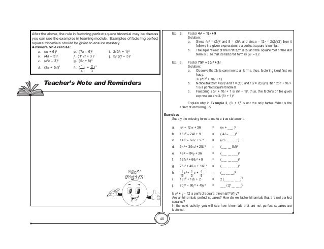 Factoring Trinomials Ax2 Bx C Worksheet Answers - Fill Online ...