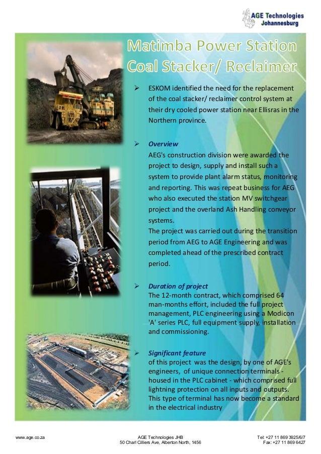     Overview AEG's constructiondivisionwereawardedthe projecttodesign,supplyandinstallsucha systemtoprovi...