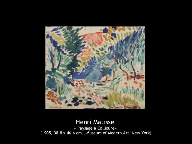 Henri matisse 1869 1954 for Matisse fenetre ouverte collioure
