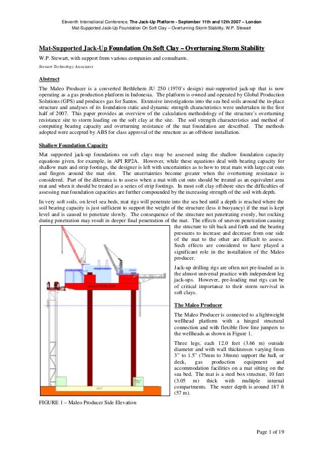 Mat j ack up rig paper 2007
