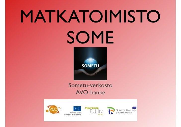 Matkatoimisto SoMe ITK2012