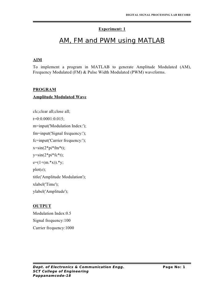 Matlab fair-record-model