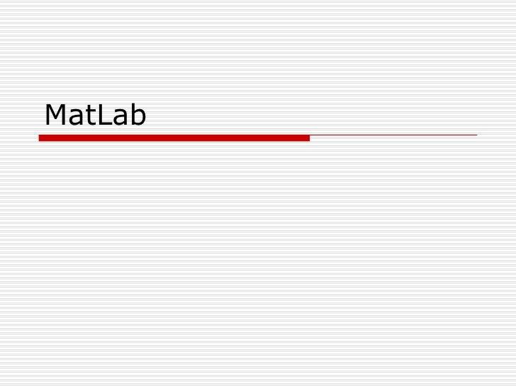 Mat lab04