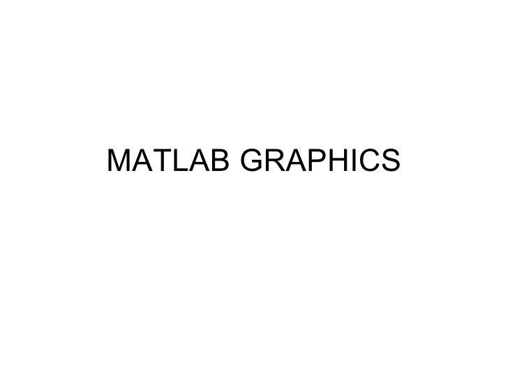 Matlab graphics
