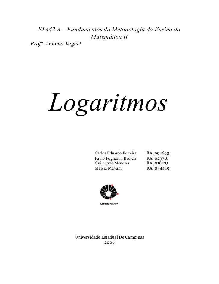 Mat logaritmos