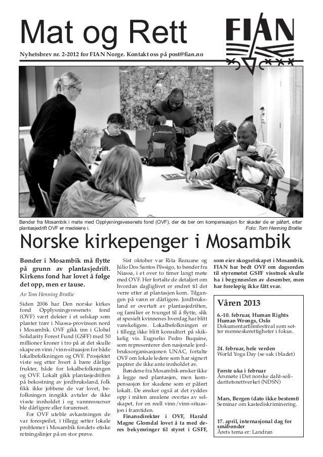 Mat og Rett nr. 2/  2012