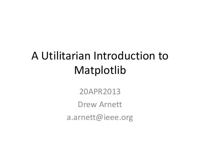 Matplotlib presentation 20 apr2013   final