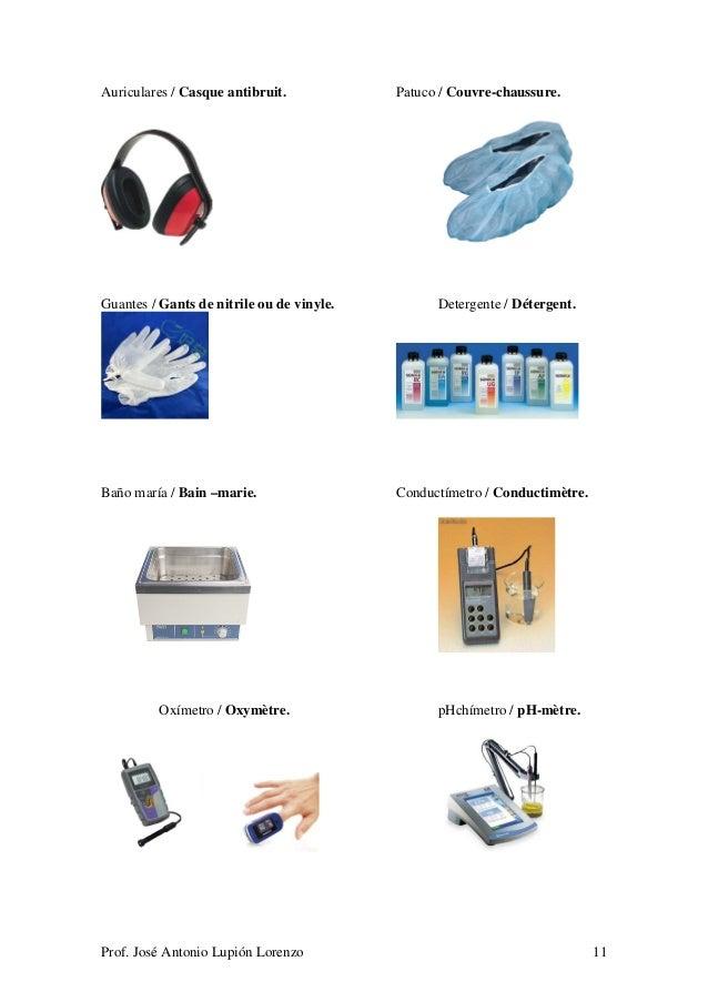 Baños Azul De Metileno:auriculares casque antibruit guantes gants de nitrile ou de vinyle