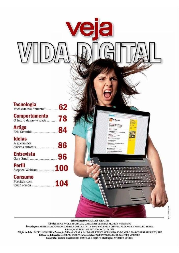 Matéria Vida Digital Veja