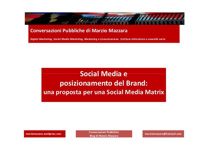 Matrice social -