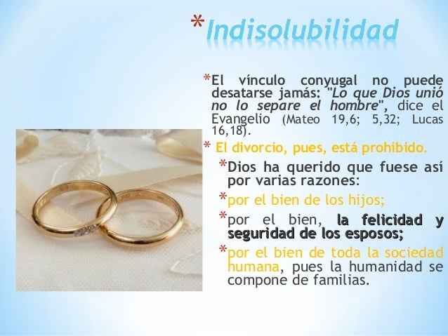 El Matrimonio Catolico Tiene Validez Legal : Matrimonio