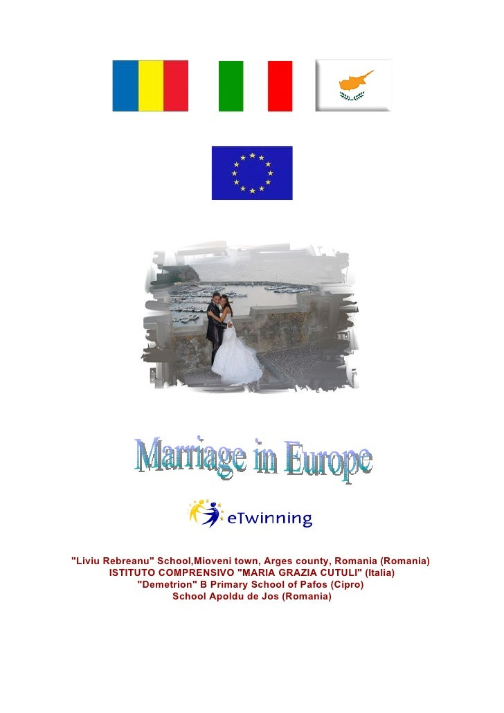 Marriage in Europe