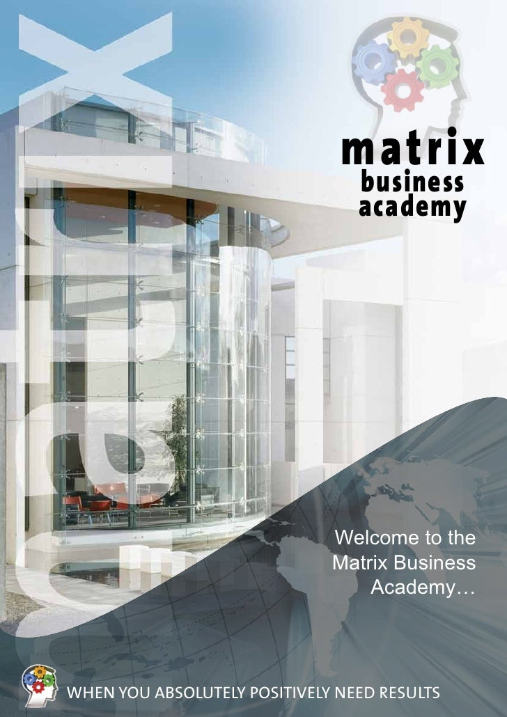 Matrix business academy members