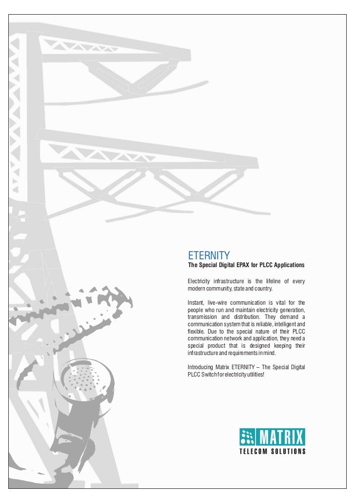Matrix eternity plcc brochure