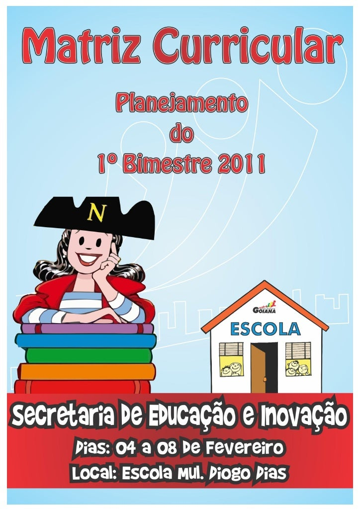 APRESENTAÇÃO         A Secretaria de Educação e Inovação através de sua Equipe Técnica Pedagógicaelaborouesta apostila con...
