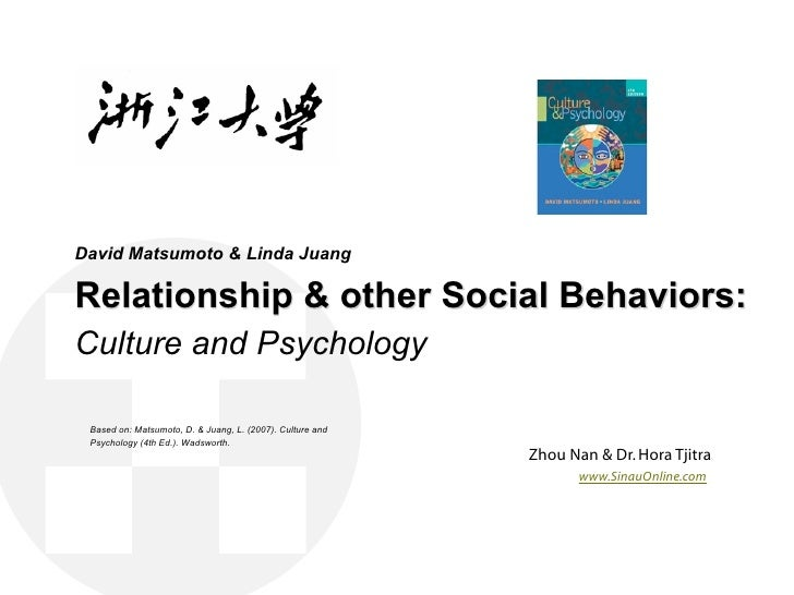 Relationship, Love and other Social Behaviors