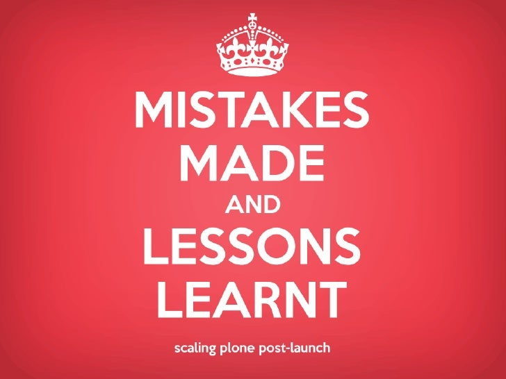 Mistakes Made and Lessons Learnt Scaling Plone post-Launch
