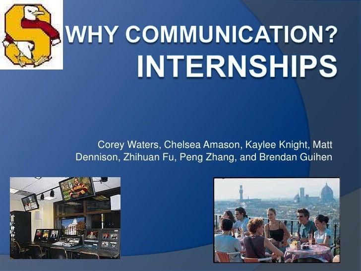 Corey Waters, Chelsea Amason, Kaylee Knight, MattDennison, Zhihuan Fu, Peng Zhang, and Brendan Guihen