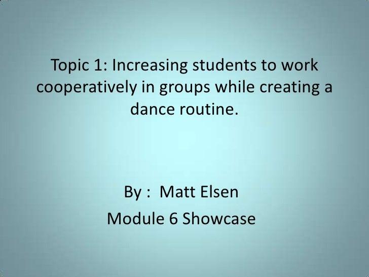 Matt Elsen Mod 6