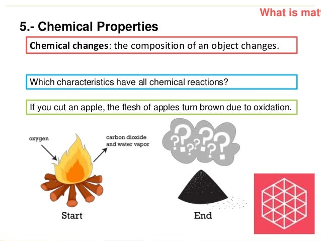 Physical and chemical properties of matter worksheet pdf