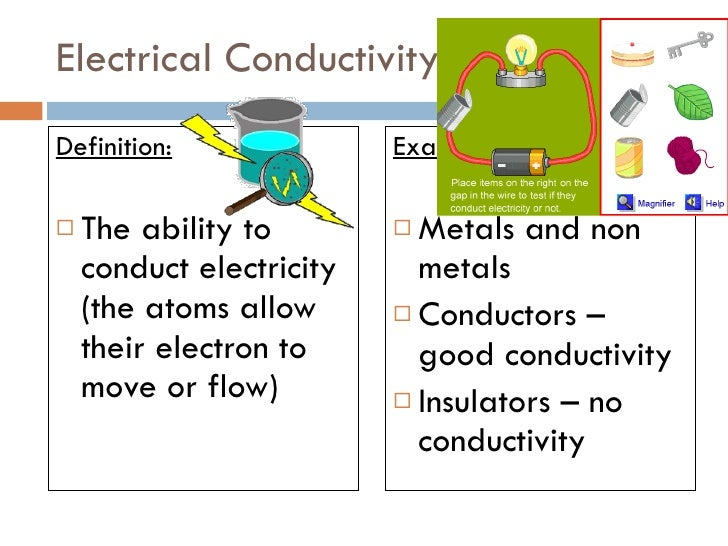 Is Electrical Conductivity A Chemical Property