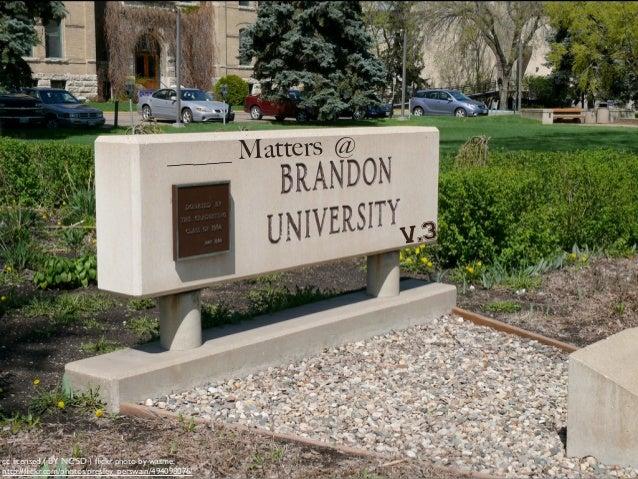 ___ Matters at Brandon Universary - Group 3