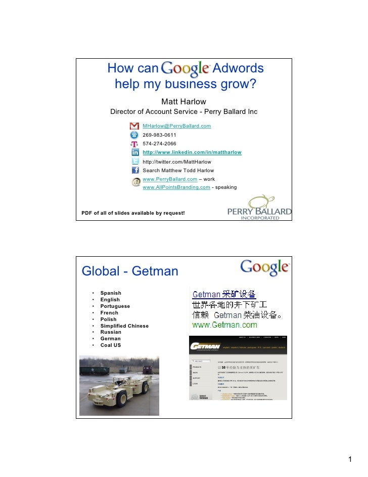 Matt Harlow Pbi Adwords Talk V11