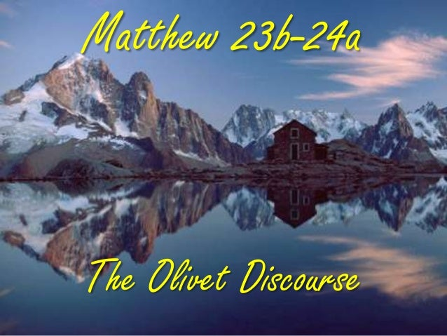 Matthew 23b, 24;31, this generation, generic you, olivet discourse, end of judaism, not one stone, western wall, gospel, abomination of desolation, genea, father's iniquity, ss