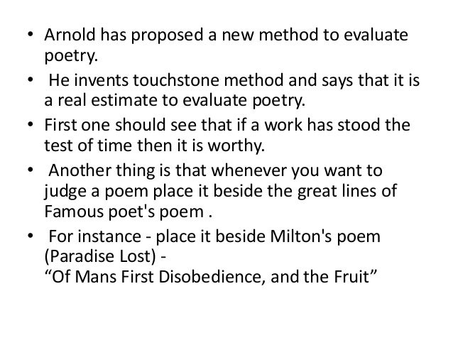 an analysis of matthew arnolds evaluation of popular romantic poets His use of symbolic landscapes was typical of the romantic era renzo d'agnillo, the poetry of matthew arnold (rome: aracne, 2005) external links.