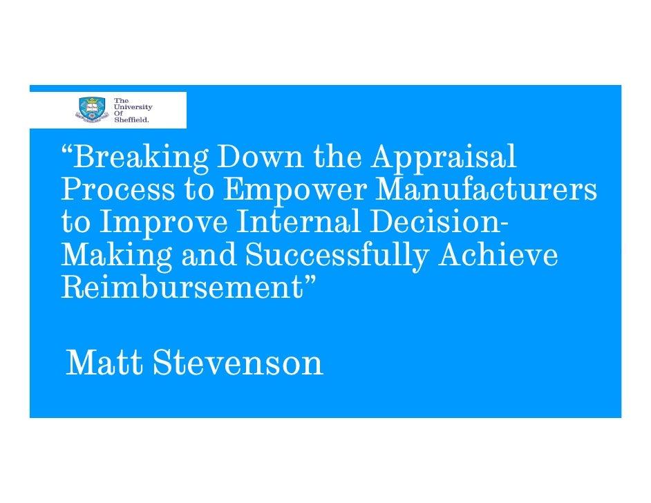 PharmaBrand Summit 2012: Presentation by Matt Stevenson