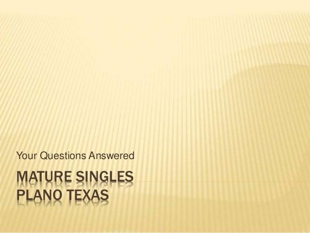 Mature Singles Plano Texas