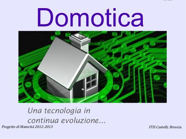 Tesina Maturità 2012-2013