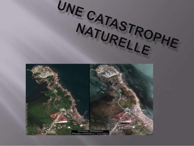 On voit 2 photo satellites prises à 2 moments différents. Sur la seconde, on voit beaucoup de bateaux qui sont sur la terr...