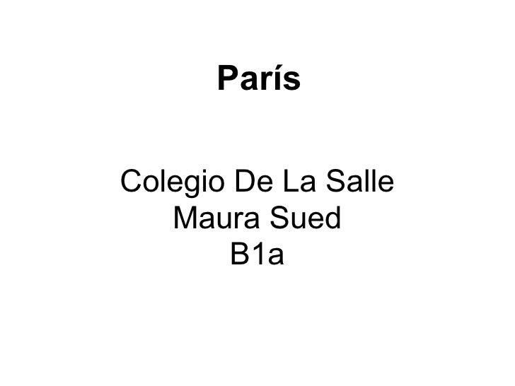 Maura Paris
