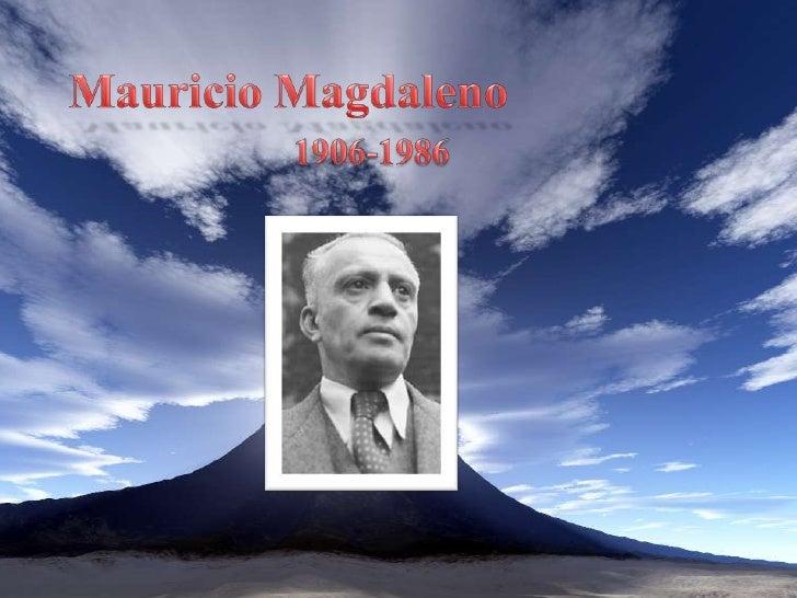 Mauricio Magdaleno<br />1906-1986<br />