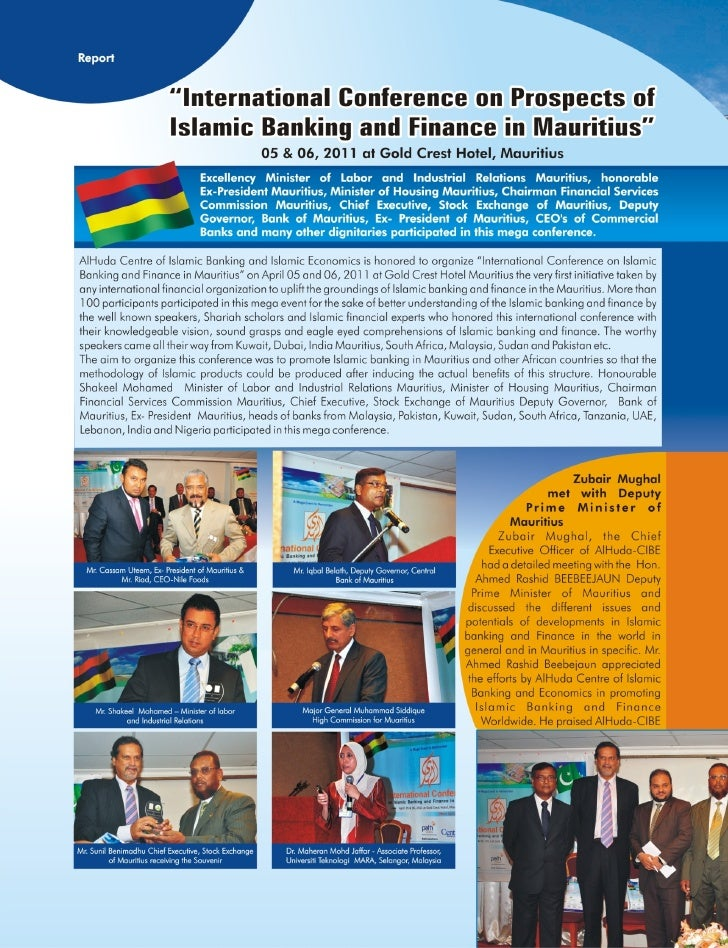 Mauritius Conference report