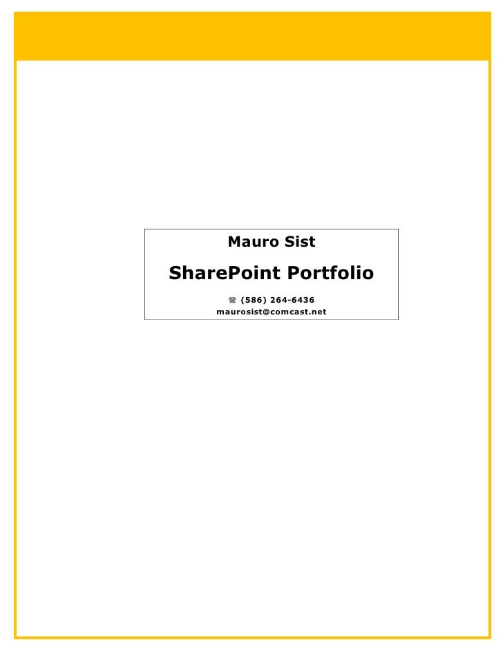 SharePoint - ACME Project