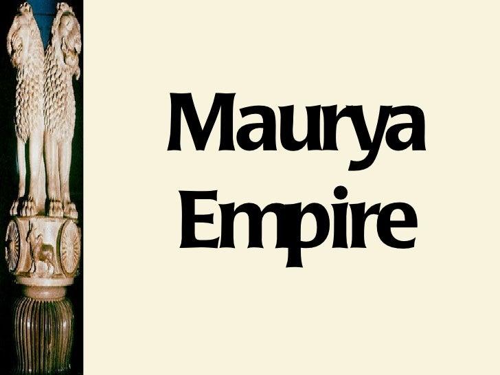 Maurya gupta empires