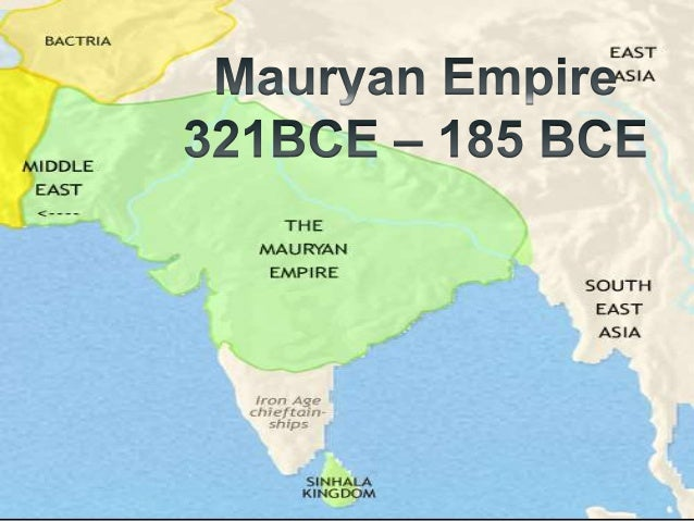 mauryan empire technology Magadhan ascendancy  above all, nearby rich deposits of iron ore gave magadha a lead in technology  the mauryan empire.