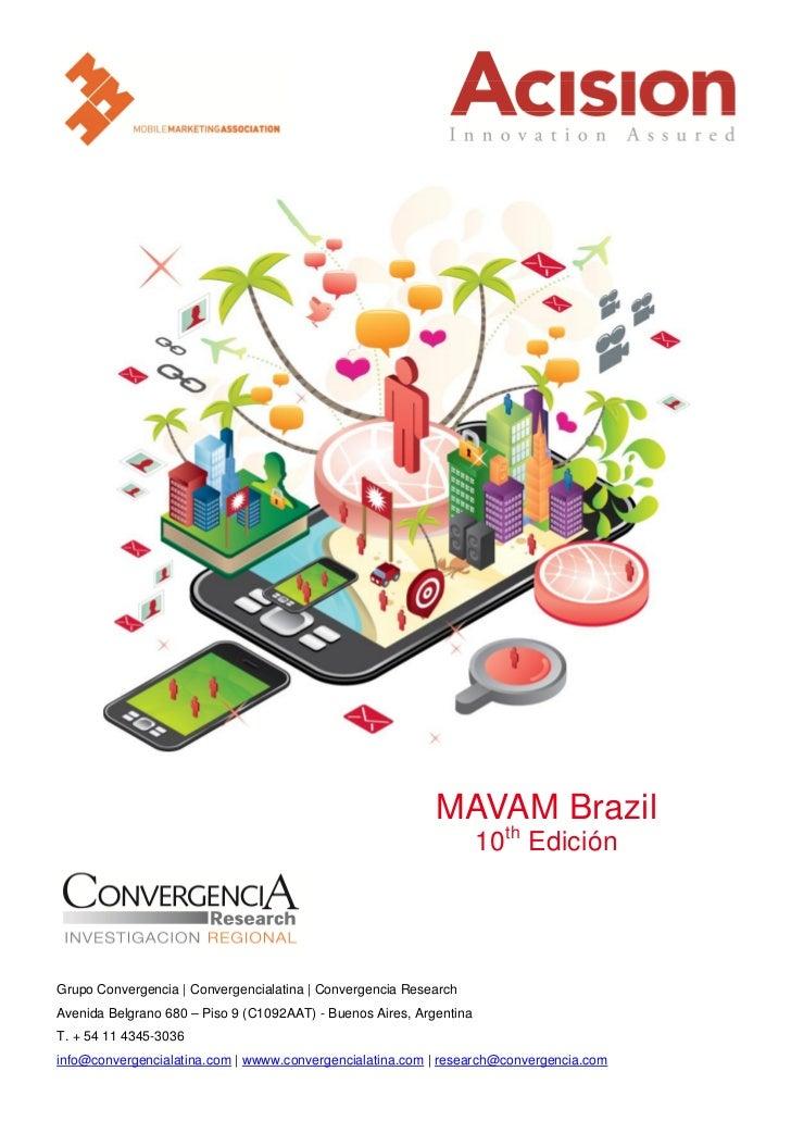 MAVAM Brazil                                                                     10th EdiciónGrupo Convergencia   Converge...