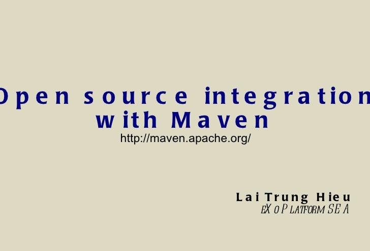 Maven introduction