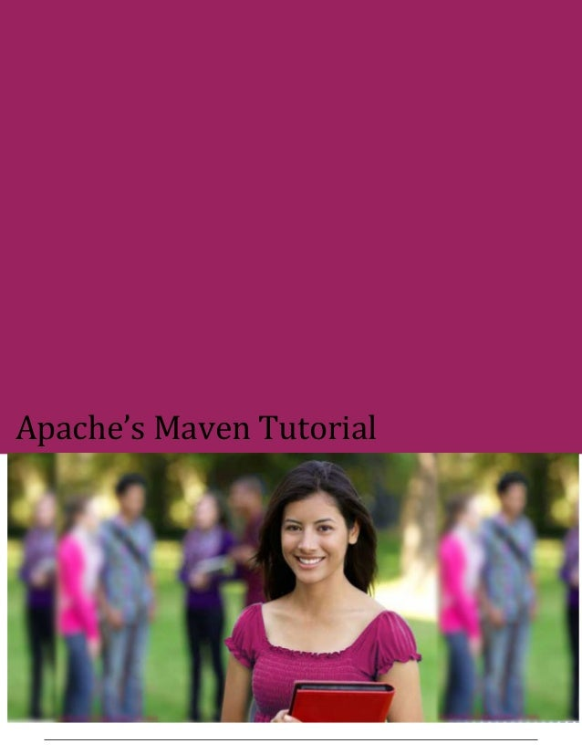 Maven tutorial
