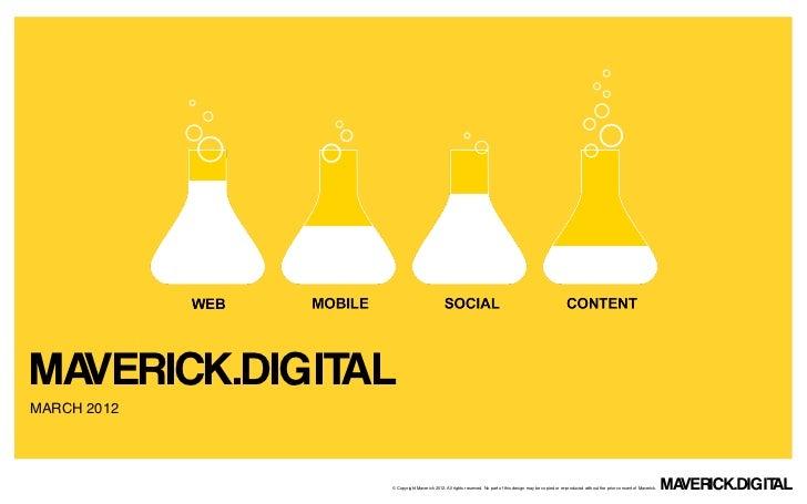 About Maverick Digital