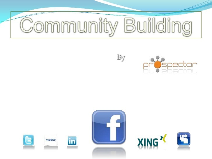 CommunityBuilding<br />By<br />