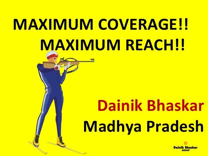Max coverage max_reach_in_mp_11_q1