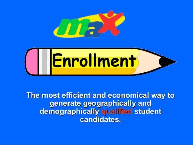 Max Enrollment - enrollment marketing for Private Schools