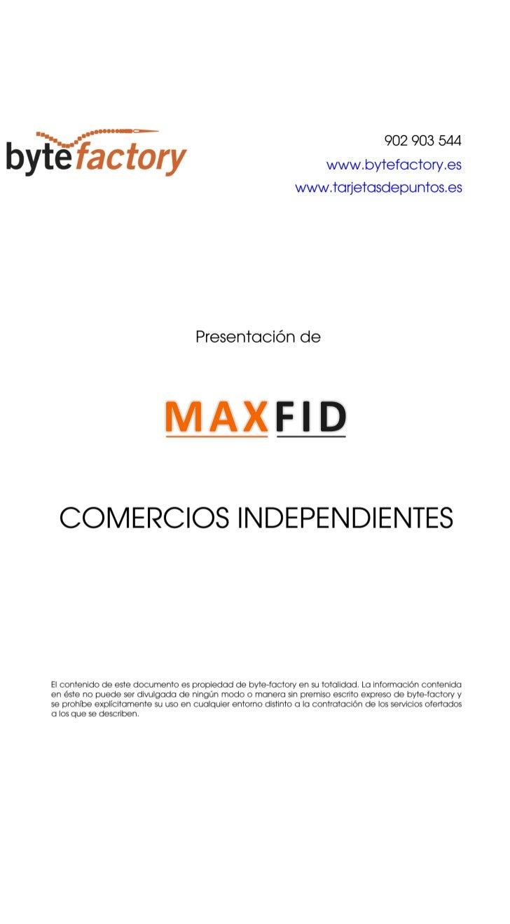 Maxfid comercio